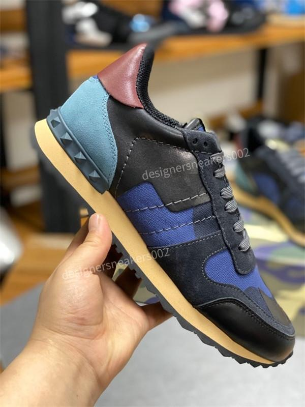 Valentino shoes 2020 novo salto quente Mens tênis de basquete cinza escuro Camo Visible xg200401 Utility sneakers Trainers