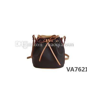 cuoio genuino di Nano NOE nuovo modo delle donne delle borse Spettacoli spalla di alta qualità Totes Borse Top Manico Messenger Bags M41346VA7620