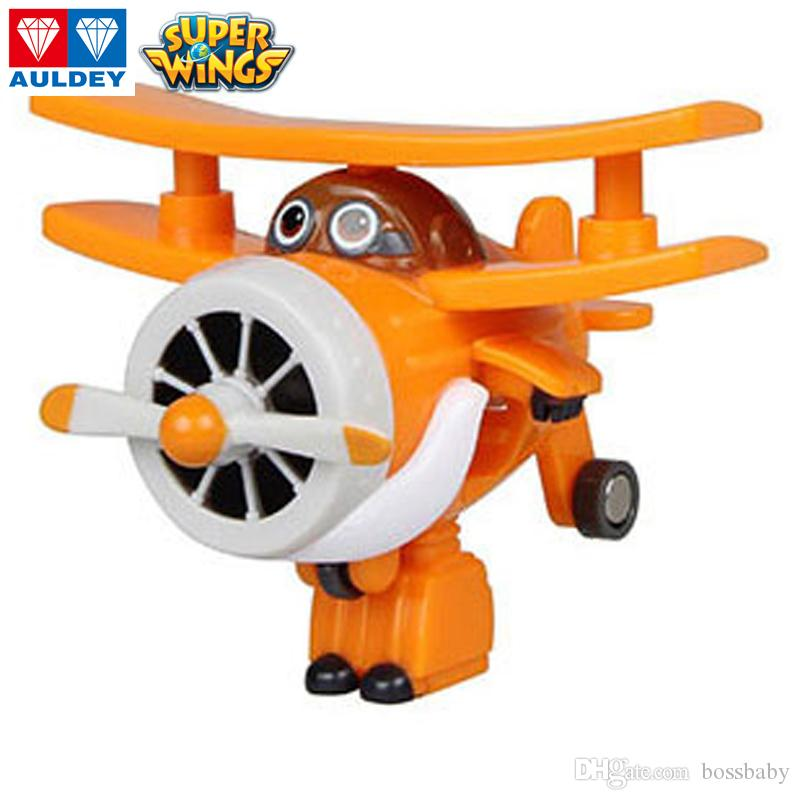 AULDEY Super Wings 17 Mini Airplane Grand Albert Single Transformed Animation Toys Kids Boy Girls Brithday Gifts Teens Christmas Toy 06