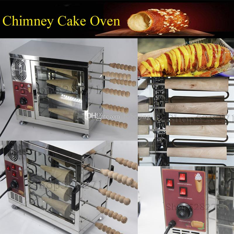 bolo chaminé Popular Hungria forno comercial automática chaminé elétrica bolo de rolo de máquina de rolo de pão forno 110v 220v