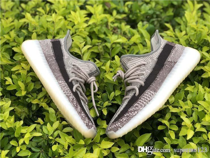2020 New Authentic Kanye West Yey350 V2 Zyon Israfil Asriel Running Shoes Mulheres Homens Designer Sneakers com caixa original