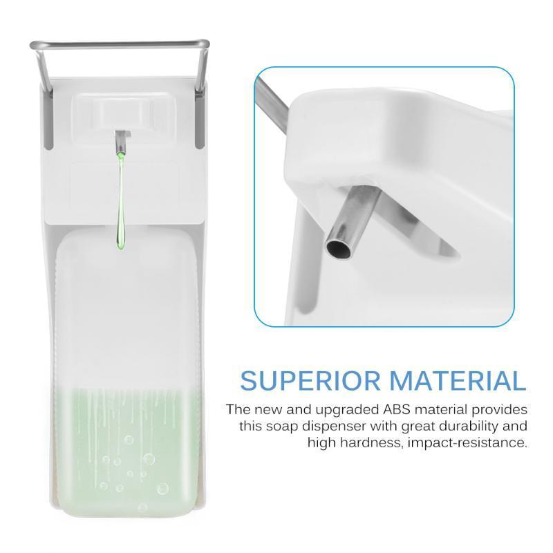 TIODRE 1000 ml ABS manuel distributeur de savon coude presse savon pompe mural désinfectant distributeur pour la Maison De Voiture Lavage polyvalent