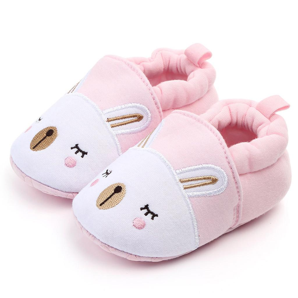 Kid Baby Girl Boys Shoes Comfortable Mixed Colors First Walkers Shoes Slippers