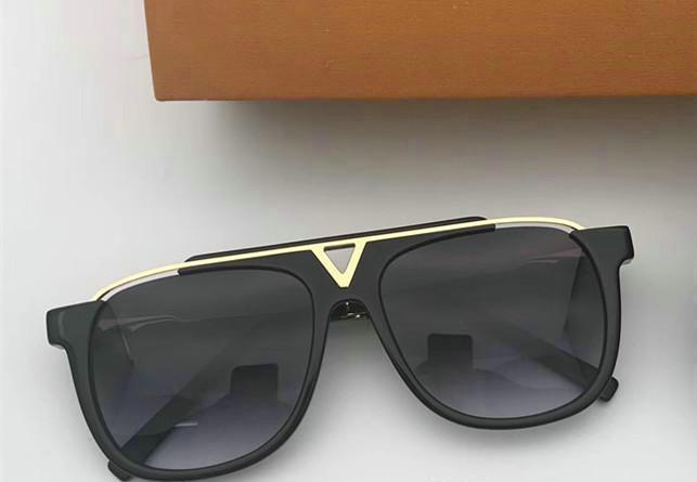 Plaj turist gerekli erkek kadın tasarımcı güneş gözlüğü 0937 kare plaka metal kombinasyonu çerçeve en kaliteli uv400 lens marka kanıtı