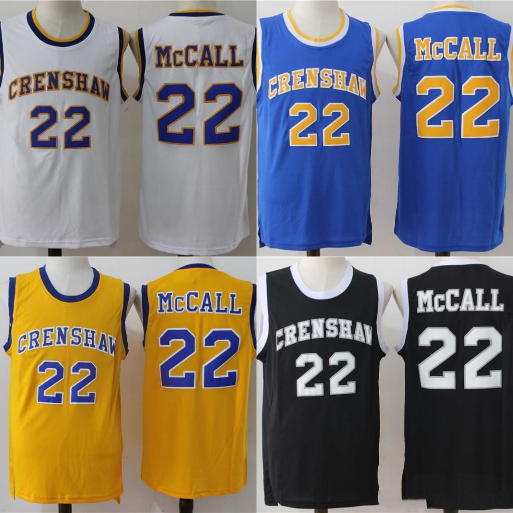 Mens d'amour et de basket-ball Jersey Quincy McCall Crenshaw Monica Wright 100% cousu Basketball Jerseys de haute qualité