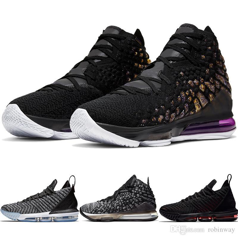 High Quality Thru Lmtd XVI Bred XVII Oreo Mens Basketball Shoes 16 17 WinWin Sports Shoes 16s King 1 Leopard Sneakers AO2595-006 BQ3177-004