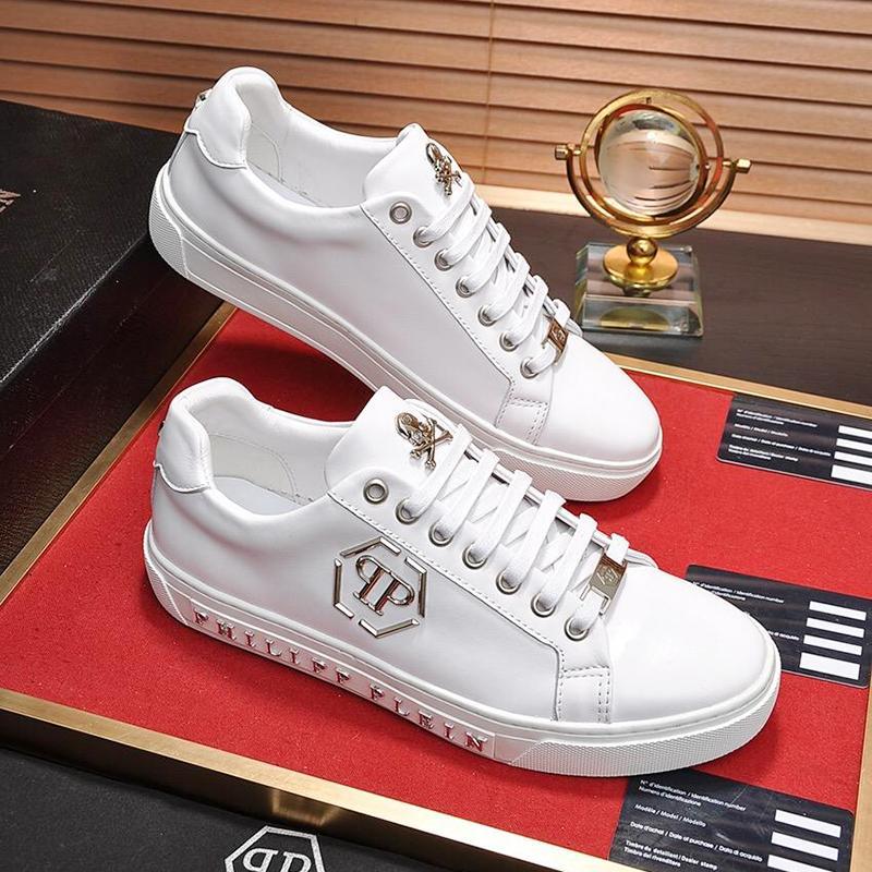 Top Qualité Hommes Sneakers Chaussures Mode Racing Flats Plate-Forme Entraîneurs De Marche Athlétique Baskets Lo-Top Déclaration Scarpe da uomo 2019 Mode