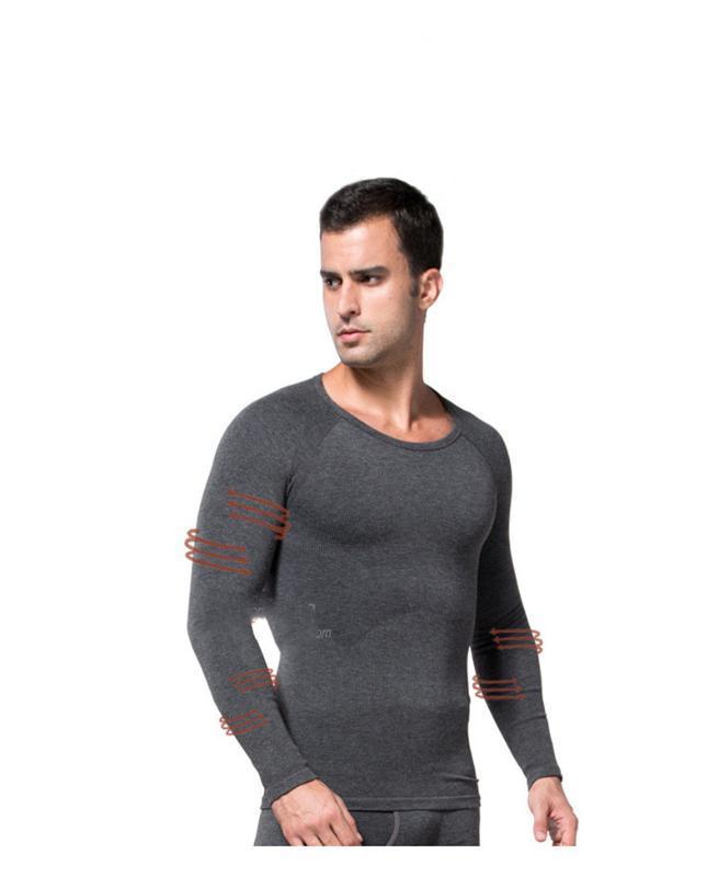 Body Shapers Отопление Волокна Фитнес Тощий Живот Плотно Мужские Сексуальное Нижнее Белье Мужская Одежда Мужская Похудение Теплый