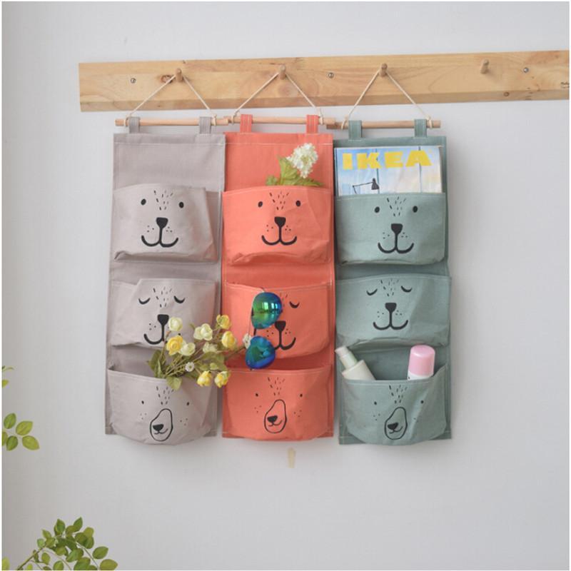 Hanging Travel Cosmetic Bag Women Zipper Make Up Polyester High Capacity Portable Toiletry Bag Bathroom Storage Organizer
