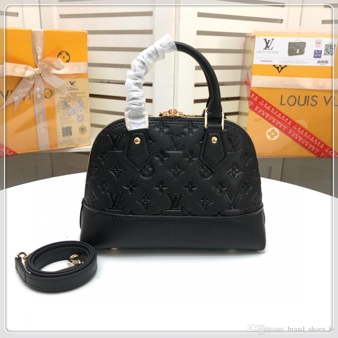 2020 New Women shoulder bags Top quality imported leather shell antirust luxury hardware pockets with zipper inner
