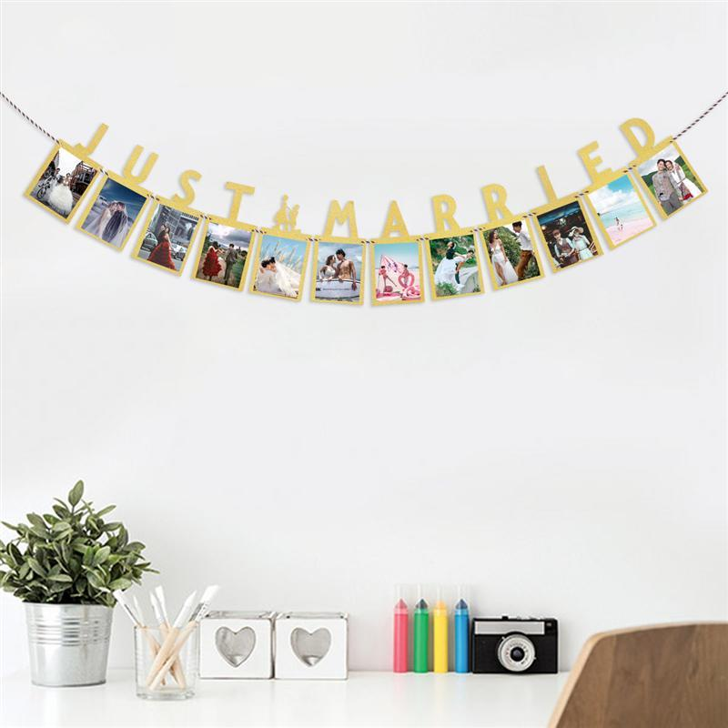 3m Wedding Banner Wedding Party Photography Props Photo Banners Garland With English Letter Just Married Photo Props Backdrop Sashes For Chairs Wedding Dress Sashes And Belts From Industrial 23 95 Dhgate Com