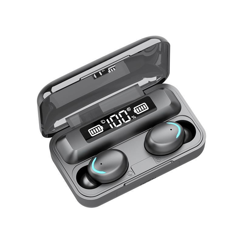 Neue F9-5 In-Ear-Wireless Bluetooth Headset Binaural TWS-Touch 5.0 Sport Bluetooth Headset dhl frei