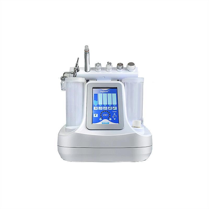 6 in 1 Vakum Yüz Temizleme Hidro Dermabrazyon Su Oksijen Jet Peel Makinesi Gözenek Temizleyici Yüz Masaj Cilt Bakımı Güzellik