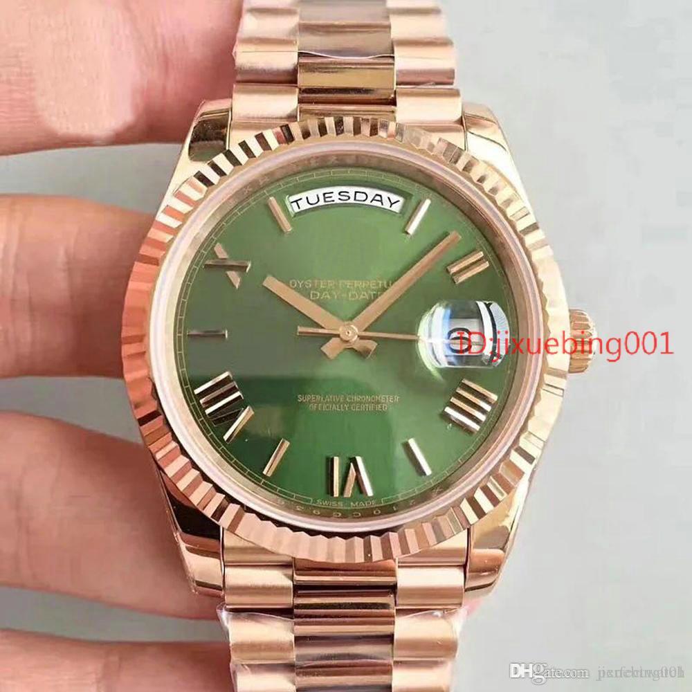 Moda de luxo Homens Relógio Automático de negócios de aço inoxidável Relógio Relógios 2813 projetista mecânico dos homens Cartier Relógios de pulso # 68