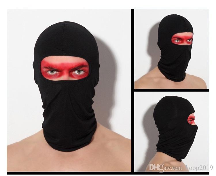 17 Renkler Moda yumuşak ekipman açık sürme Parti Mask CS toz geçirmez Likra motosiklet rüzgâr siperi maske