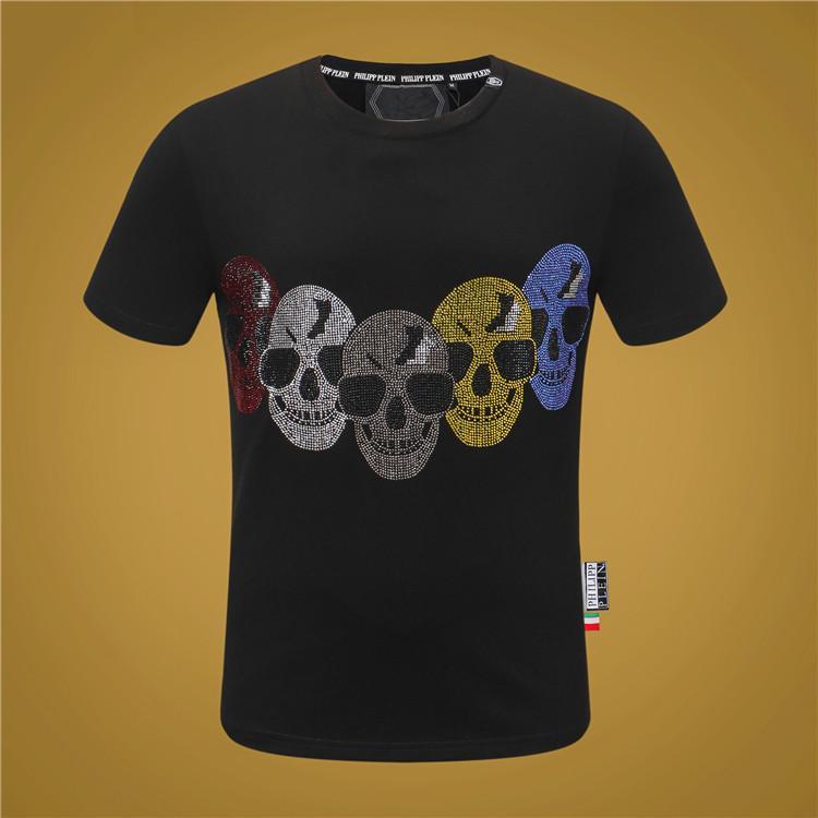 de 20SS hommes de luxe t-shirt décontracté O-Neck Slim T-shirt Homme Marque été Mode à manches courtes hommes de taille tee Vêtements M-XXXL K26