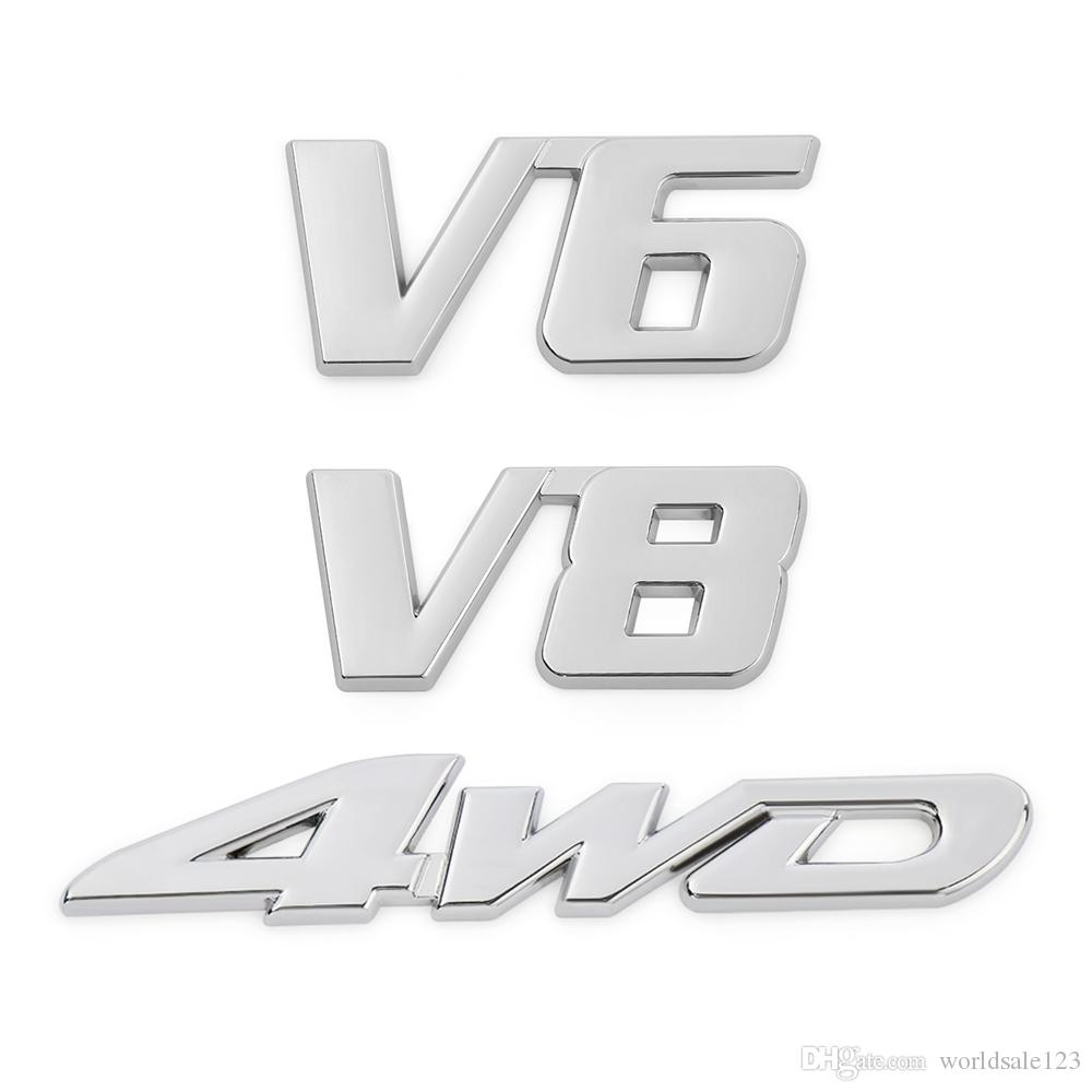 Chrome Silver Metal 3D Superman Emblem Badge Car Tailgate Exterior Sticker Decal