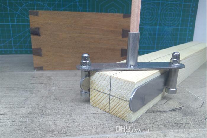 Calibre de marquage Outil de menuisier centr/é de marquage pour le travail du bois
