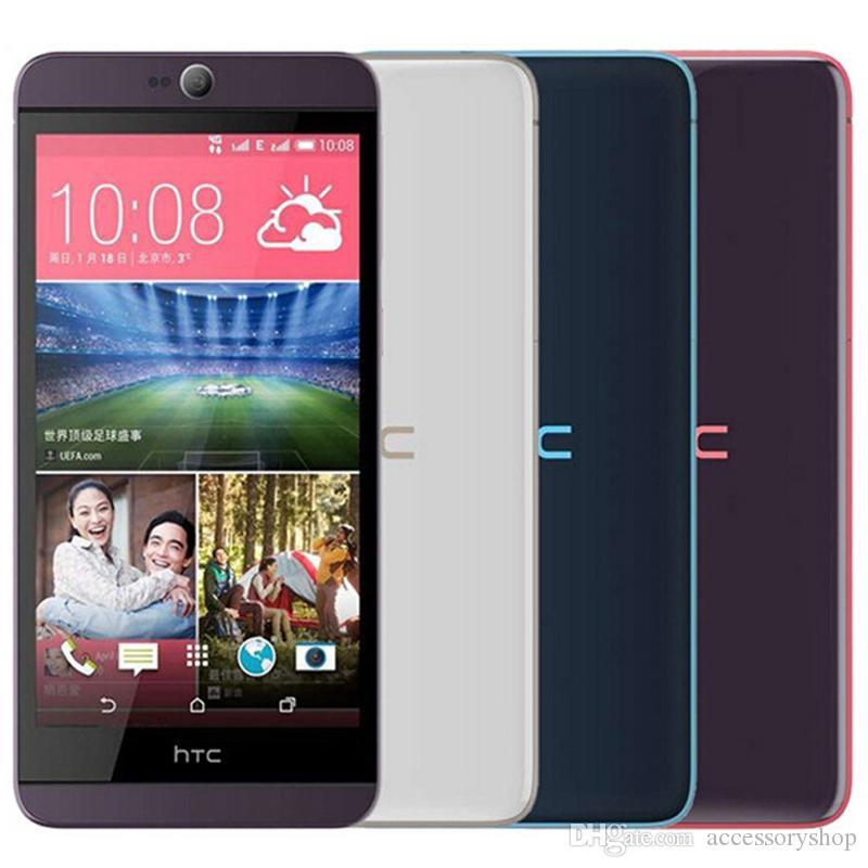 تم تجديده الأصل HTC الرغبة 826 826W المزدوج سيم 5.5 بوصة الثماني الأساسية 2GB RAM 16GB ROM 13MP 4G LTE مقفلة الهاتف الذكي الروبوت دي إتش إل الحرة 1PCS