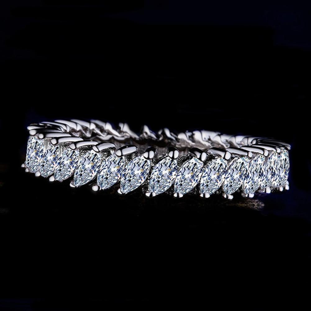 Europäische und amerikanische Mode-Blumen-Knospe Ring-Weiß-Trend Ring Schmuck Frauen einfacher Entwurfs-Finger-Ring Schmuck Großhandel