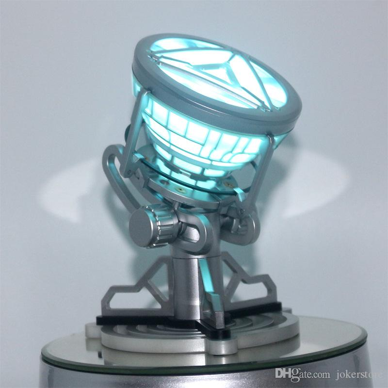 Iron Man MK6 Arc Reactor Chest Light Anime Figures Boy CollectibleMoble Hot Toys Gifts Doll New Arrvial Hot Sale PVC Free Shipping