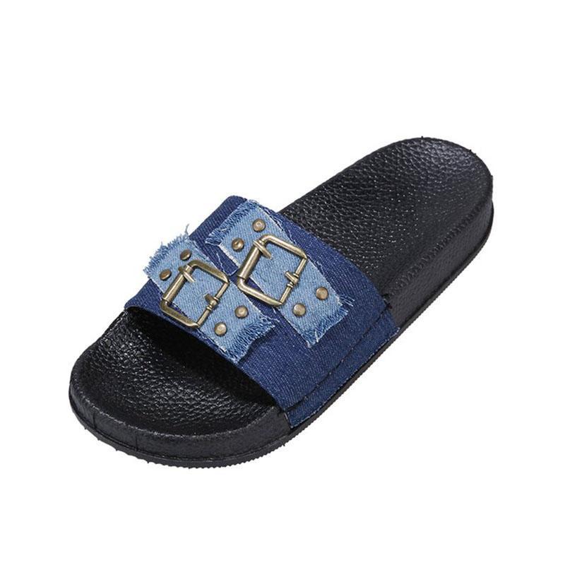 AARDIMI 2,020 경계가 평면으로 리벳 여성 슬리퍼 무리 플립 플롭 신발 여성 여름 슬라이드 홈 또는 외부 여성 신발 36-43