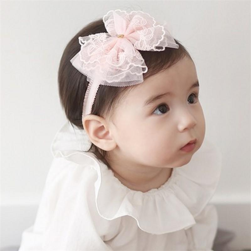 Baby Girls Fashion hairband Infant Children Photography props Lovely Bow Hairwear Newborn Hair Accessories