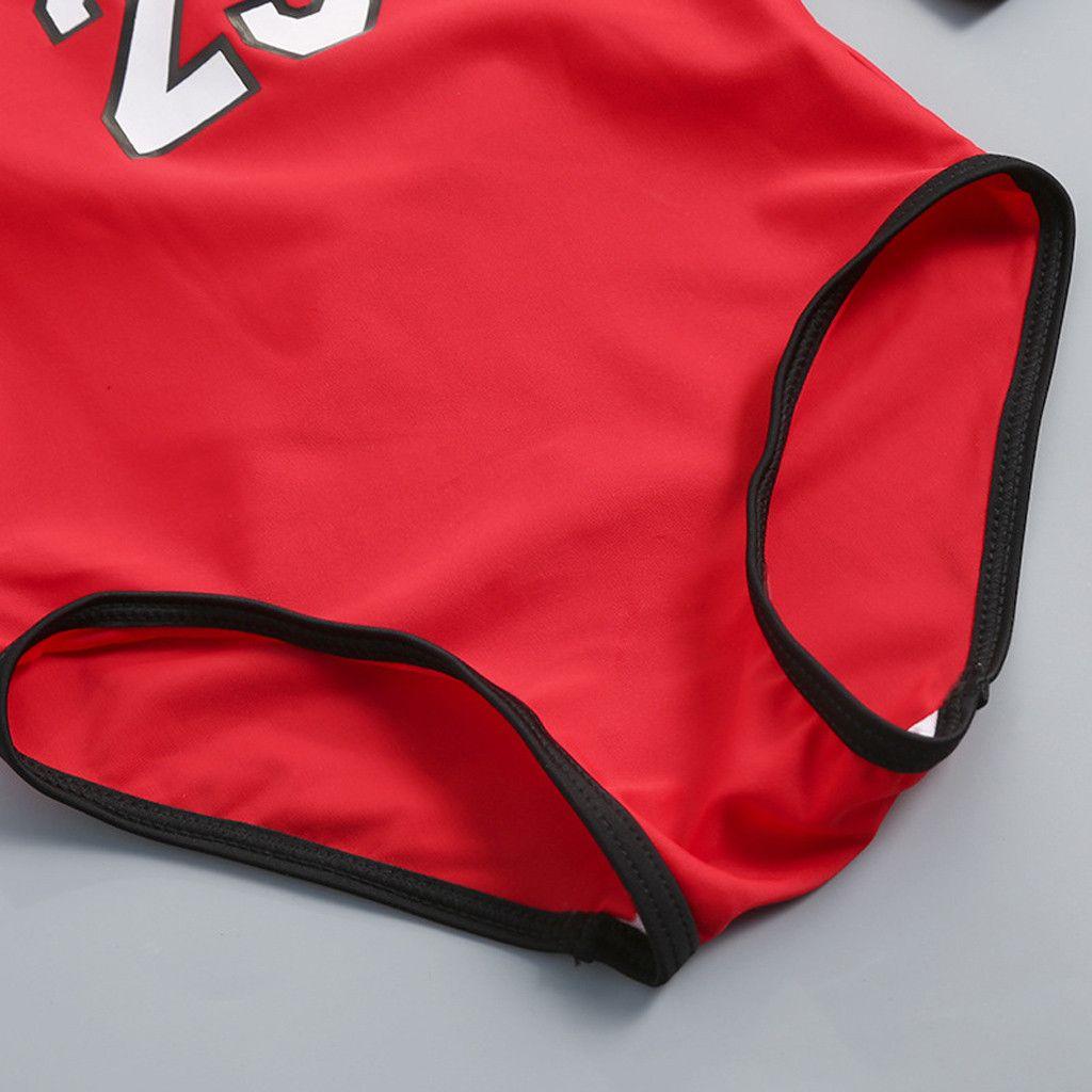 Kids Baby swimwear Boy Girl Letter One Piece toddler Bathing Suit swimsuit baby girl Beach Swimwear children Hat Clothes Set
