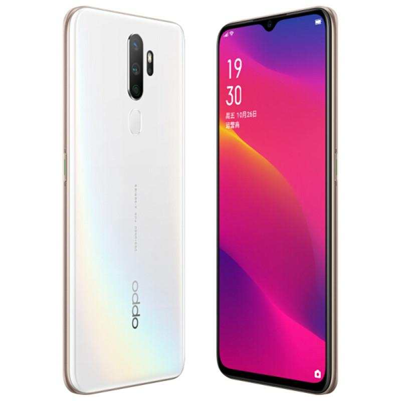 Original Oppo A11 4G LTE Cell Phone 4GB RAM 128GB ROM Snapdragon 665 Octa Core 6.5 inches Full Screen 12MP Fingerprint ID Smart Mobile Phone