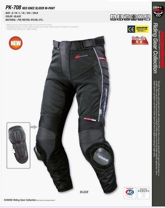 Neu für KOMINE PK-708 Motocross Sommer Netz Fahrt Hosen Automobil Hosen Motorradrennen Dirt Bike Riding
