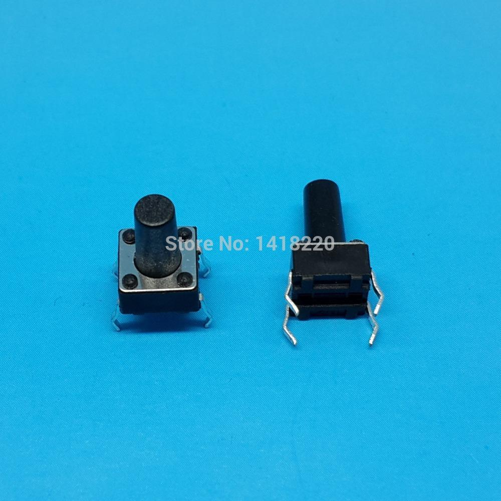 2000Pcs 6*6*10MM 4pins DIP Tact Switch Pushbutton