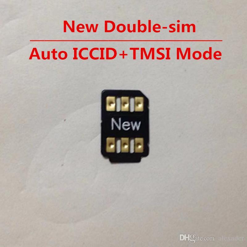 Свободный DHL двойной SIM Unlock Card для IOS 13.x все iPhone и GSM WCDMA LTE 4G Auto Всплывающее меню Turbo Sim Gevey