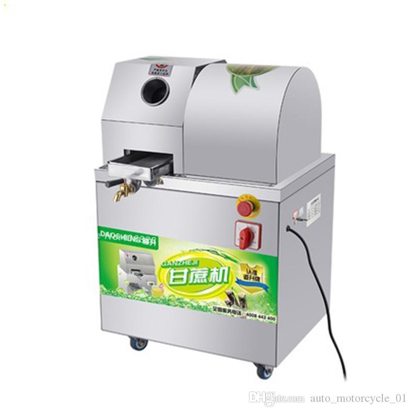 Otomatik Ayarlama Şeker Kamışı Makinası Şeker Kamışı Meyve suyu sıkma Pres Makinası Ticari Elektrikli Sıkma Extractor 300kg / saat