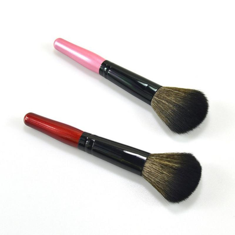 Wooden Powder Makeup Brushes Face Blusher Soft And Comfort Cosmetic Makeup Brush Loose Shape Foundation Beauty Tools 2Color 12.2cm About