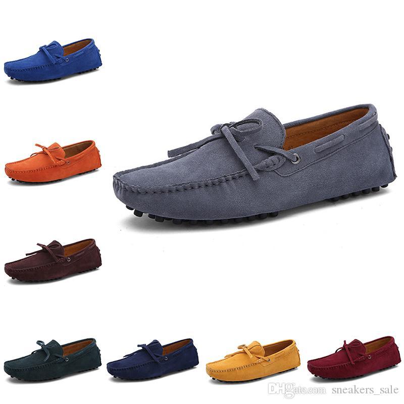 Ucuz erkekler rahat ayakkabılar Espadrilles üçlü siyah beyaz kahverengi şarap kırmızı lacivert haki mens spor ayakkabısı açık hava koşu yürüyüş main2