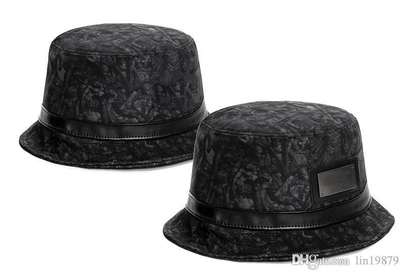 2017 nuovo modo Cayler Sons dio pelle Secchio Cappelli moda Bob Cappelli Hip Hop Cappello da pescatore di estate delle donne degli uomini