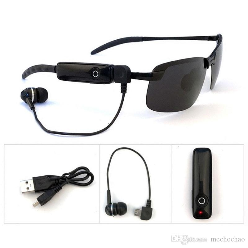 Fashion Wireless Bluetooth Sunglasses Bluetooth Headset Sunglasses Stereo Wireless Sports Headphones hands-free headset mp3 music player