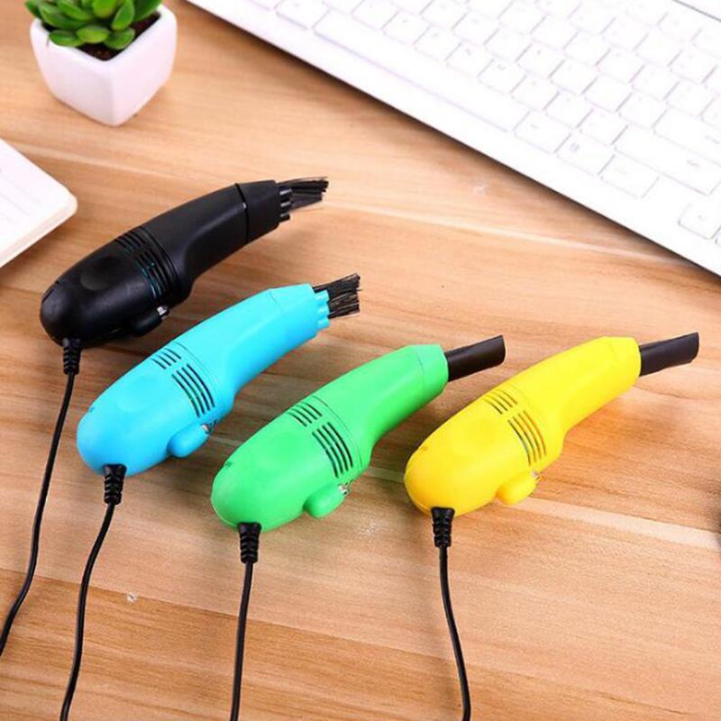 Escova de limpeza Computador 90 centímetros USB Vacuum Cleaner Car Escritório Handheld Mini Keyboard Cleaner