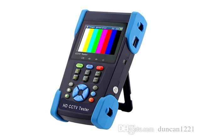 3.5 بوصة HD CCTV الناتج تستر مراقب AHD CVBS السيدا TVI SDI 8MP 5MP النظير كاميرا PTZ اختبار 12V