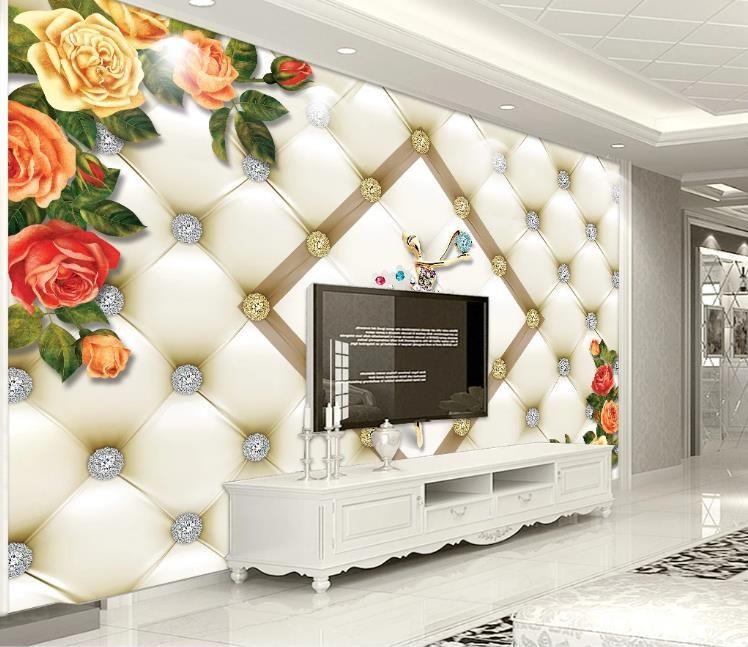 Nordic 3D Fondos de Ballet de joyería de encargo del bailarín de salón TV telón de fondo del papel pintado 3D murales de pared decoración