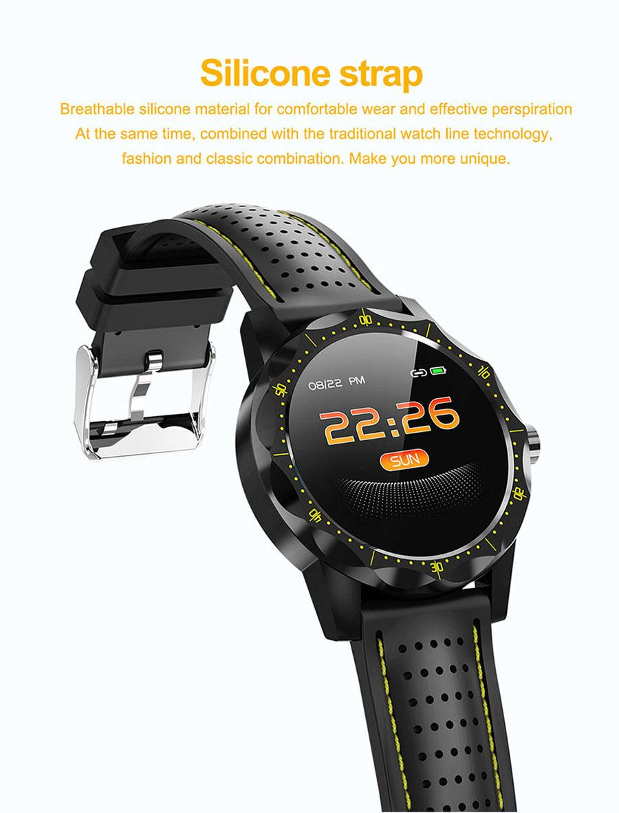 New SKY 1 Smart Watch Hand Ring Heart Rate Blood Pressure Call Reminds IP68 Waterproof Sports Business Model