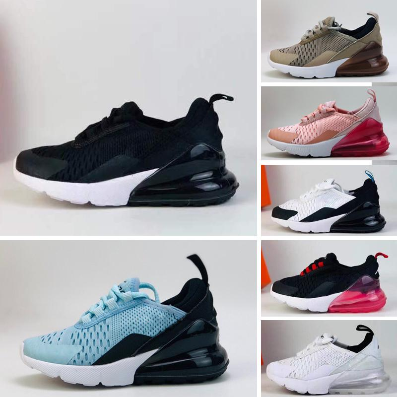 Nike Air Max 270 Flash Light Air Huarache Bambini 2018 Nuove scarpe da corsa Infant Run bambini scarpa sportiva all'aperto luxry Tennis huaraches Sneaker per bambini Sneakers