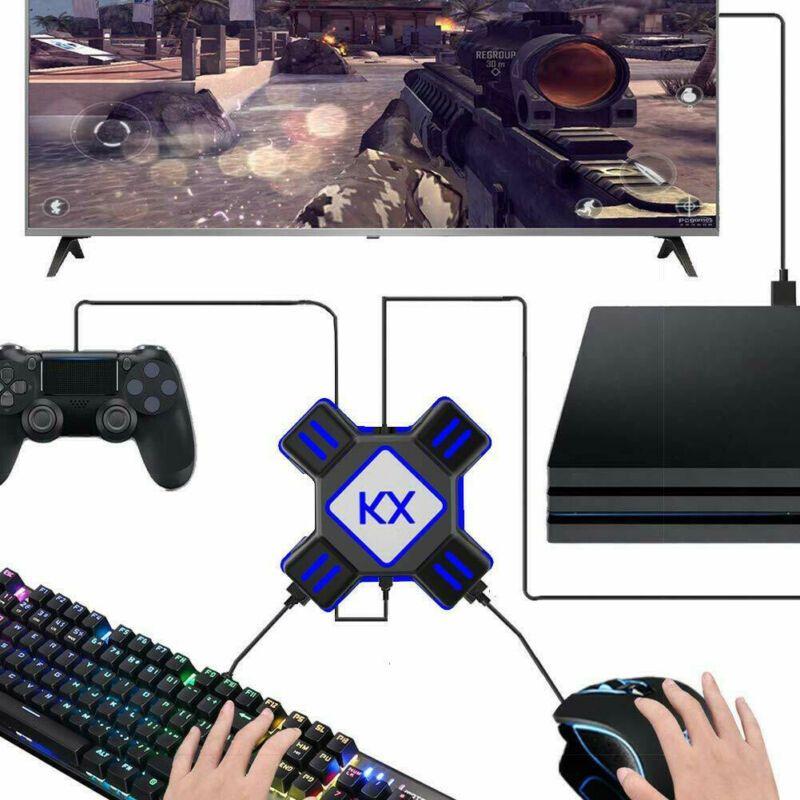 Switch / Xbox / PS4 / PS3 için yeni USB Oyun Kontrolörü Dönüştürücü Klavye Mouse Adaptör