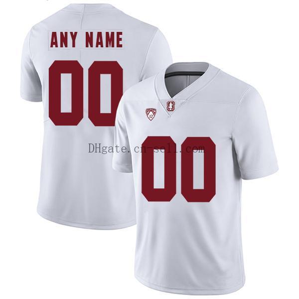 Пользовательские NCAA Стэнфорд кардинал футбол любое имя любое число S-6XL белый черный красный Ричард Шерман футбол Джерси