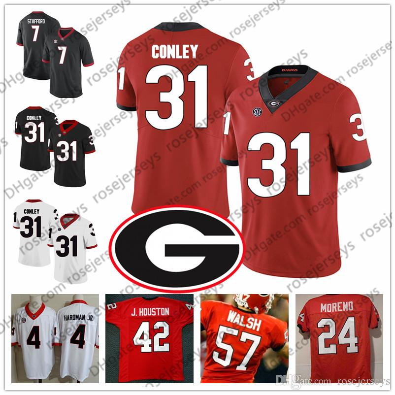 2021 2019 Georgia Bulldogs #24 Knowshon Moreno 29 Jarvis Jones 31 ...