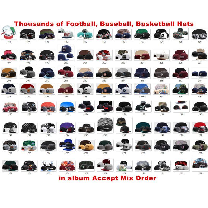Nouveau Football Américain 32 équipe Snapback Casquette De Sport Casquettes Chapeaux Casquette De Baseball Hip Hop Été Casquettes De Plage Soleil Chapeaux Des milliers de modèles