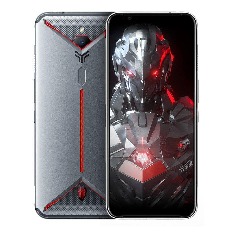 """Nubia originale rouge magique 3S 4G LTE Cell Phone 8 Go de RAM 128Go ROM Snapdragon 855 plus 6,65"""" écran 48MP pleine d'empreintes digitales ID 90Hz Téléphone mobile"""