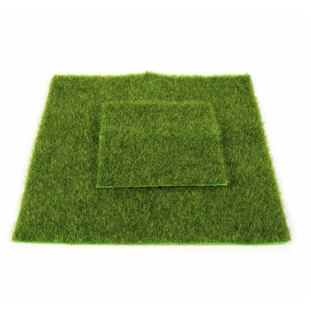 Hot Sale Micro Landscape Artificial Grass Landscape Home Aquarium Decoration Artificial Lawn Garden Real Touch Moss 2019 New