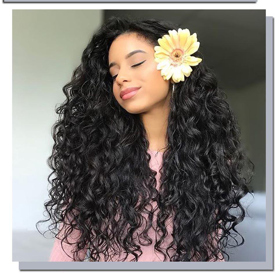 Синтетические парики афро кудрявый вьющиеся парик человеческих волос высокое качество полный кружева человеческих волос парики женщины челка парик пушистые длинные вьющиеся волосы продажа