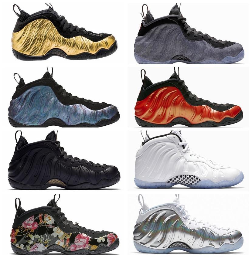 2020 sıcak Penny Hardaway Köpükler Bir Alternatif Galaxy erkek basketbol ayakkabıları Ordu Kamuflaj siyah metalik altın Üniversitesi Kırmızı erkekler eğitmenler pro